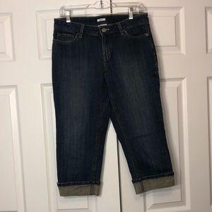 Liz&co. Women's Capri Jeans